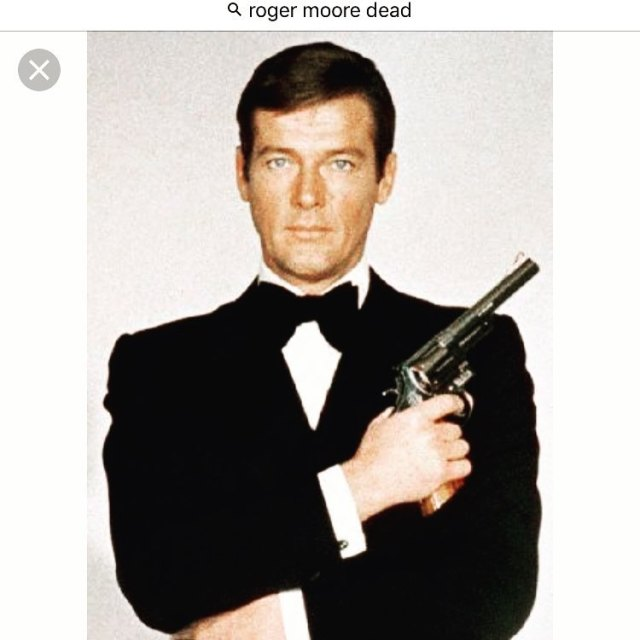 RIP Roger Moore You were my favourite 007 because youhellip