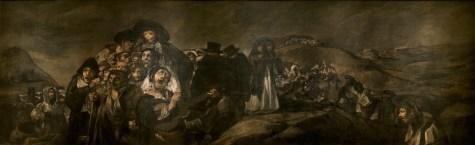 21. Goya. Romaria de Santo Isidro., 1819-1823