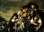 Francisco Goya's The Pilgrimage of St. Isidro (detail) 1821-23