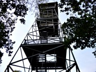 Lookout tower ontop of Alchemerberg