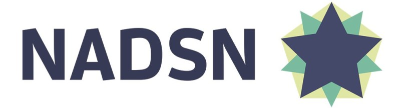 logo of NADSN, the letters are capitalised