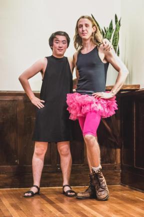 Lisa Gong - Terrace Drag Ball - Marsha and Angela