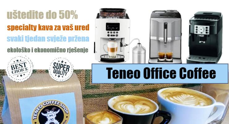 5 razloga za kupiti kavu za ured u Teneo Coffee Shopu