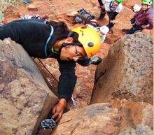 trad climbing tenerife