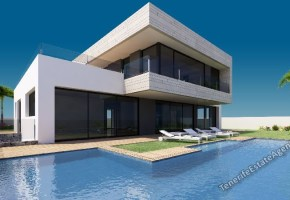 Contemporary Villa for sale in Exclusive area of San Eugenio 1,885,000€
