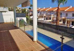 Brand New, Detached, Modern Villa with Swimming Pool and Sea Views for Sale in Chayofa, 480,000€