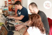 una tarde de arduino con Tenerife Maker Space