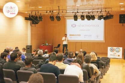 Arduino Day 2016 en Tenerife con Tenerife Maker Space.