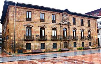 Palacio de Alfonso II Hoy Palacio de Valdecarzana Oviedo