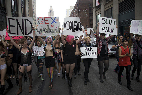 SlutWalk NYC 2011