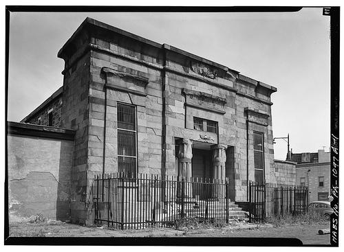 Philadelphia Co. Prison Debtors' Wing (demolished) from HABS