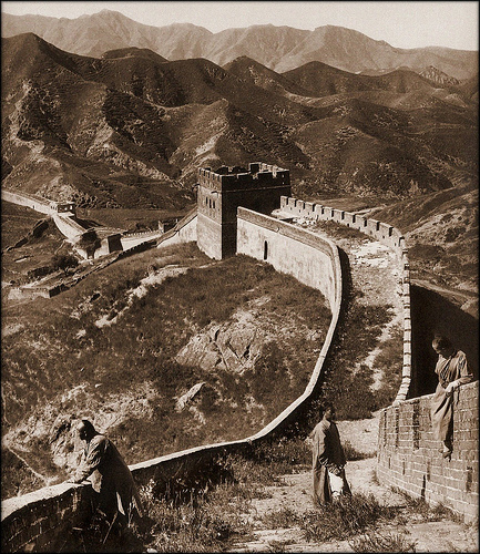 Greatwall China [1907] Herbert G. Ponting [RESTORED]