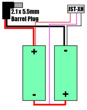 Fatshark Battery Mod: 18650 Cells!! – TenFPV