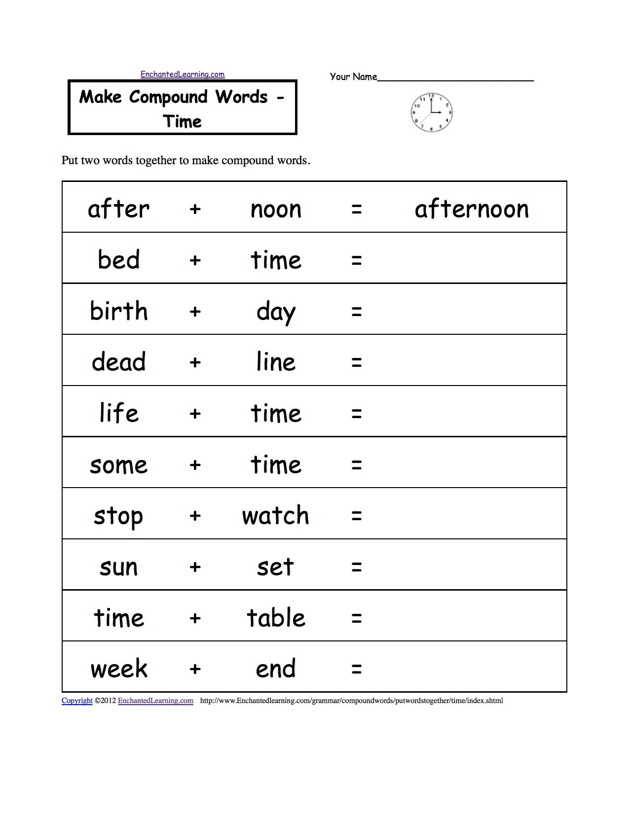 Free Printable Calendar Worksheets For 3rd Grade