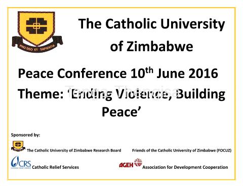 peace conference cuz
