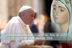 Francisco: María siempre nos lleva a Jesús