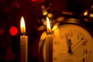 Oración al despedir el año
