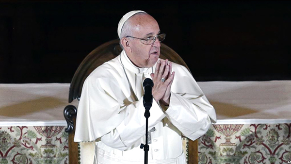 Papa Francisco se dirige a las víctimas de abusos sexuales