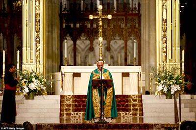 Vísperas en la Catedral de San Patricio, NY