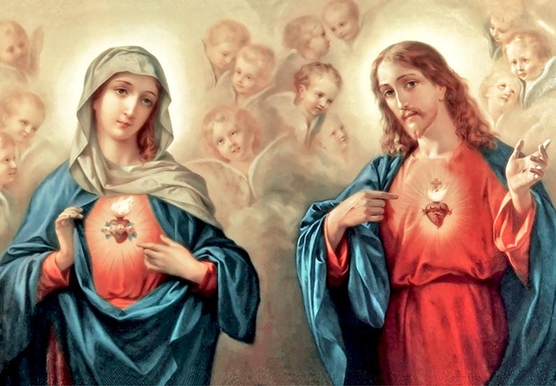 Saludo de San Juan Eudes al Corazón de Jesús y María
