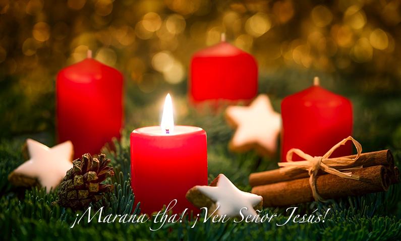 Oración para encender la 1ra vela de Adviento