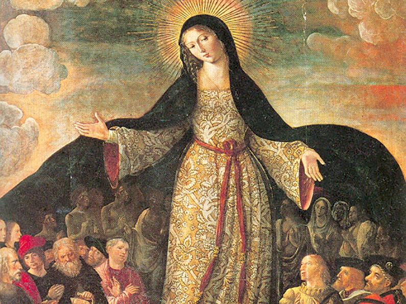 Oración a María, Madre de la Misericordia