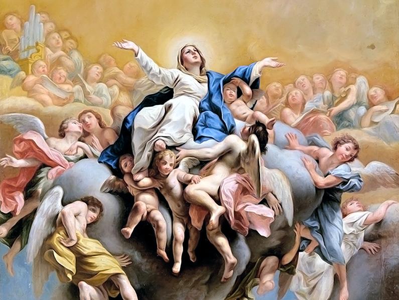 A Nuestra Señora, en su Asunción a los cielos