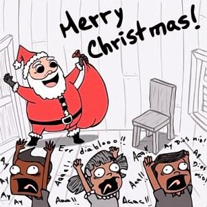 Santa Cló va a La Cuchilla