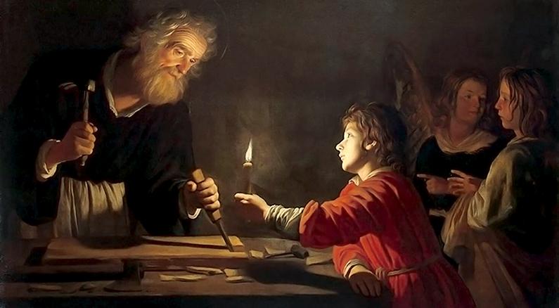 San José, el más santo de los santos: Paternidad De San José