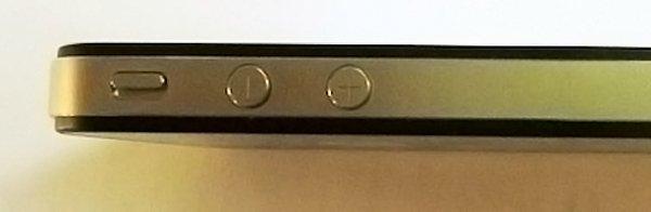 Botones iPhone 4 cambiados