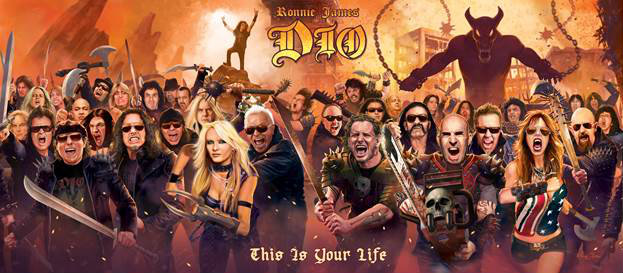 ronnie james dio this is your life Tributo a Ronnie James Dio terá Metallica, Motorhead, Anthrax, Tenacious D e mais
