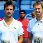 Flamantes campeones de Cincinnati en dobles