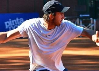 Martín Cuevas en la vuelta al circuito