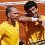 Brasil quedo atrás con la derrota del dobles ante Croacia