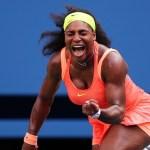 Serena completó un gran partido para meterse en los cuartos de final del US Open.
