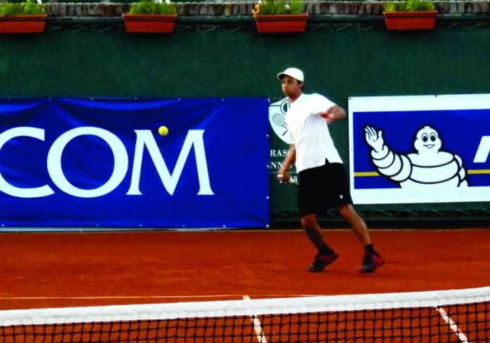 Darío Acosta en cuartos de final