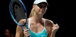 Sharapova en semis del Master de Singapur