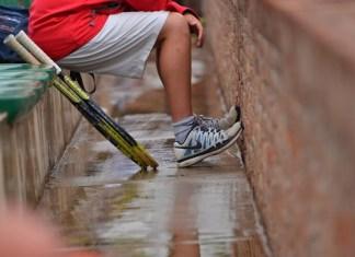 Día de lluvia en el Carrasco Lawn Tennis
