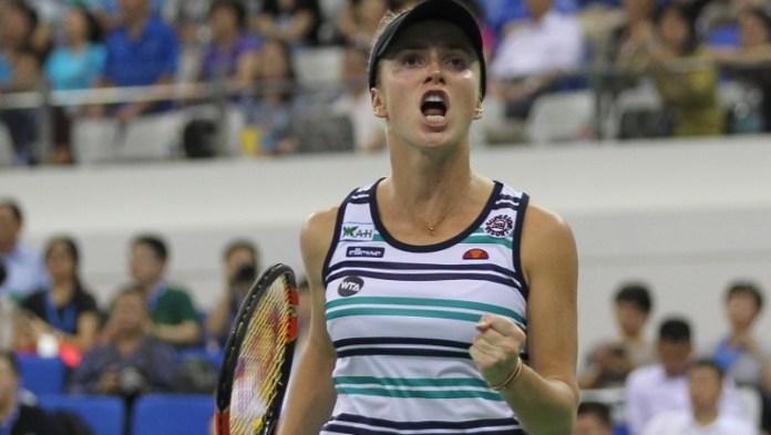 Svitolina es la cuarta semifinalista del master de Zhuhai