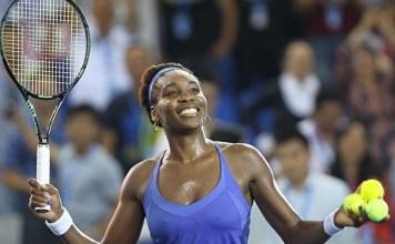 Venus Wiliams una de las semifinalistas del Maaster de Zhuhai