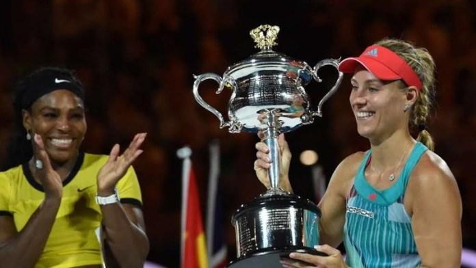Kerber, suma su nombre a las ganadoras del Australian Open