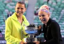 Tercer título de Grand Slam que consiguen Mattek Sand y Safarova.