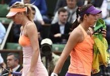 En la Caja Mágica de Madrid sobre 2 superficies simultáneas se disputará este atractivo duelo entre 2 grandes del tenis femenino.