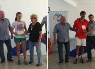 Agustina Cuestas y Rodrigo Arus campeones del Nacional 2016