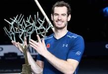 Andy Murray, campeón en el París Bercy