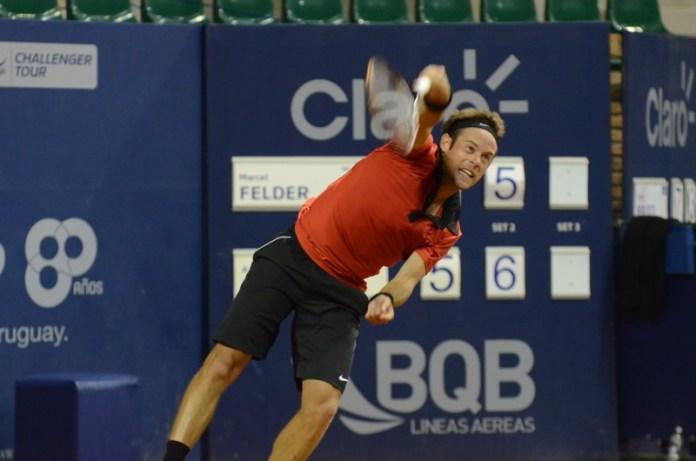 Marcel Felder regresa al Uruguay open