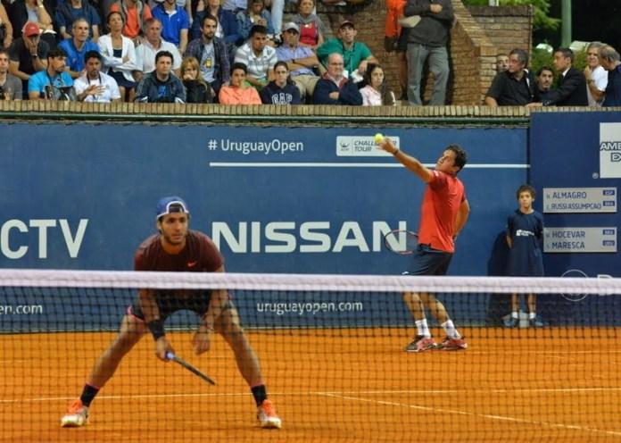 Nicolás Almagro y Eduardo Russi Assumpcao avanzan a segunda ronda de dobles
