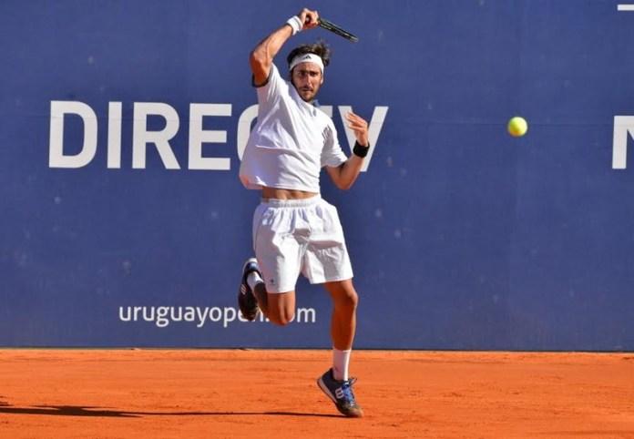 Rodrigo Arus juega este domingo la final de la qualy por un lugar en el cuadro principal del Uruguay open