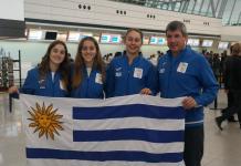 Delegación uruguaya Sub 16