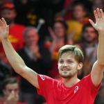 Goffin festeja al pase a la final de Bélgica